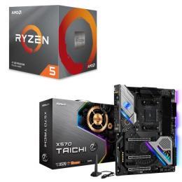 AMD Ryzen 5 3600X BOX + ASRock X570 Taichi セット
