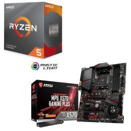 AMD Ryzen 5 3600 BOX + MSI MPG X570 GAMING PLUS セット