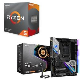 AMD Ryzen 5 3600 BOX + ASRock X570 Taichi セット