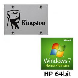 KINGSTON SUV400S37/240G + Windows 7 Home Premium SP1 64bit DSP版 セット