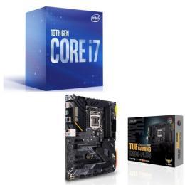 Intel Core i7 10700 BOX + ASUS TUF GAMING Z490-PLUS セット