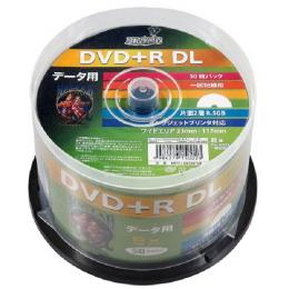 HDD+R85HP50 [DVD+R DL 8倍速 50枚組]