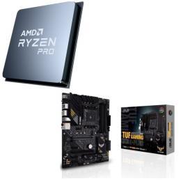 AMD Ryzen 5 PRO 4650G + ASUS TUF GAMING B550-PLUS 2点セット!