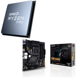 AMD Ryzen 5 PRO 4650G + ASUS TUF GAMING B550M-PLUS 2点セット!