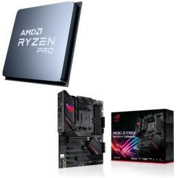 AMD Ryzen 7 PRO 4750G + ASUS ROG STRIX B550-F GAMING 2点セット!