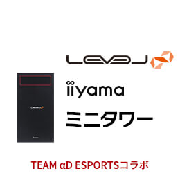 LEVEL-M046-iX4F-RVS-αD [Windows 10 Home]