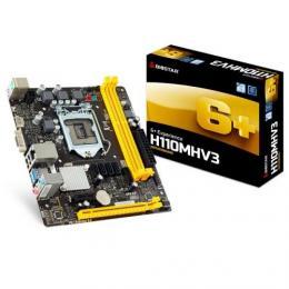 【注目の商品】 <パソコン工房> 一部のMini-ITXケースにも収納可能なH110チップセット搭載マザーボード ...