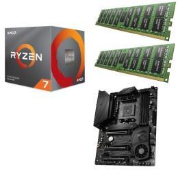 AMD Ryzen 7 3700X + MSI MEG X570 UNIFY + DDR4-3200 8GB×2枚 メモリ 3点セット!