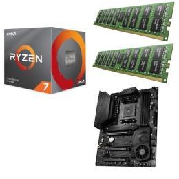 AMD Ryzen 7 3800X + MSI MEG X570 UNIFY + DDR4-3200 8GB×2枚 メモリ 3点セット!