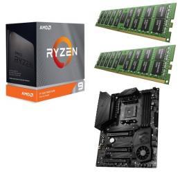 AMD Ryzen 9 3950X + MSI MEG X570 UNIFY + DDR4-3200 8GB×2枚組メモリ 3点セット!