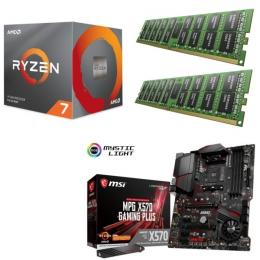 AMD Ryzen 7 3800X + MSI MPG X570 GAMING PLUS + DDR4-3200 8GB×2枚 メモリ 3点セット!