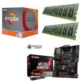 AMD Ryzen 9 3900X + MSI MPG X570 GAMING PLUS + DDR4-3200 8GB×2枚 メモリ 3点セット!