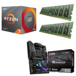 AMD Ryzen 7 3800X + MSI MPG B550 GAMING PLUS + DDR4-3200 8GB×2枚 メモリ 3点セット!