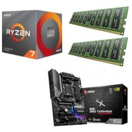 AMD Ryzen 7 3800X + MSI MAG B550 TOMAHAWK + DDR4-3200 8GB×2枚 メモリ 3点セット!