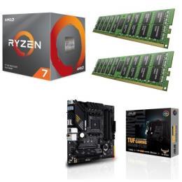 AMD Ryzen 7 3800X + ASUS TUF GAMING B550M-PLUS + DDR4-3200 8GB×2枚 メモリ 3点セット!