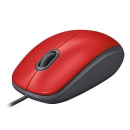 M110 静音マウス レッド M110sRD