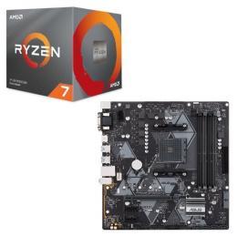 AMD Ryzen 7 3700X BOX + ASUS PRIME B450M-A セット