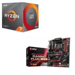 AMD Ryzen 7 3700X BOX + MSI B450 GAMING PLUS MAX セット