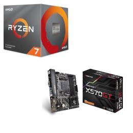 AMD Ryzen 7 3700X BOX + BIOSTAR X570GT セット