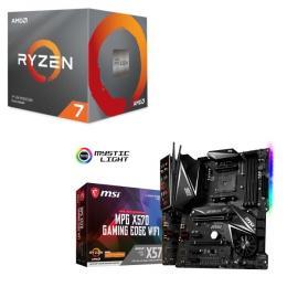 AMD Ryzen 7 3700X BOX + MSI MPG X570 GAMING EDGE WI-FI セット