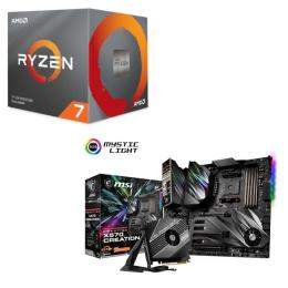 AMD Ryzen 7 3700X BOX + MSI Prestige X570 CREATION セット
