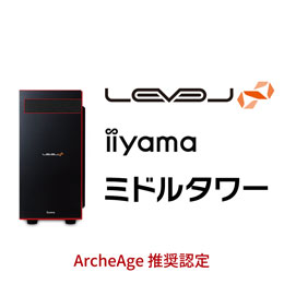 LEVEL-R040-i7K-TWA-ArcheAge [Windows 10 Home]