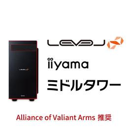 LEVEL-R040-i7K-TWA-AVA [Windows 10 Home]