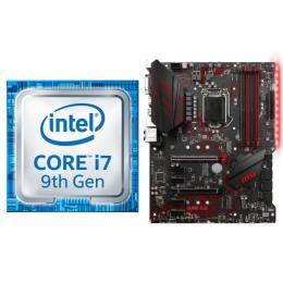 Intel Core i7 9700K BOX + MSI MPG Z390 GAMING PLUS セット