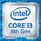 第8世代インテルCore i3プロセッサーバッジ