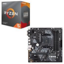 AMD Ryzen 5 3500 BOX + ASUS PRIME B450M-A セット