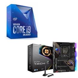Intel Core i9 10900K BOX + ASRock Z490 Taichi セット