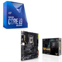 Intel Core i9 10900K BOX + ASUS TUF GAMING Z490-PLUS セット