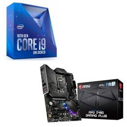 Intel Core i9 10900K BOX + MSI MPG Z490 GAMING PLUS セット