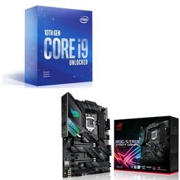 Intel Core i9 10900KF BOX + ASUS ROG STRIX Z490-F GAMING セット