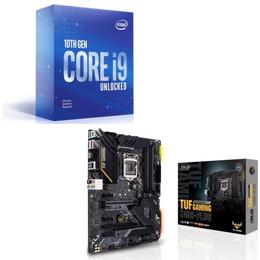 Intel Core i9 10900KF BOX + ASUS TUF GAMING Z490-PLUS セット