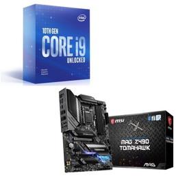 Intel Core i9 10900KF BOX + MSI MAG Z490 TOMAHAWK セット