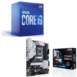 Intel Core i9 10900 BOX + ASUS PRIME Z490-A セット