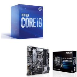 Intel Core i9 10900 BOX + ASUS PRIME Z490M-PLUS セット