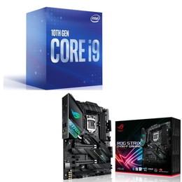 Intel Core i9 10900 BOX + ASUS ROG STRIX Z490-F GAMING セット