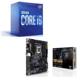 Intel Core i9 10900 BOX + ASUS TUF GAMING Z490-PLUS セット