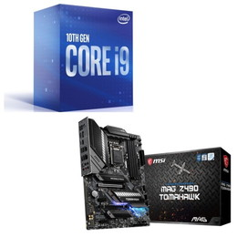Intel Core i9 10900 BOX + MSI MAG Z490 TOMAHAWK セット