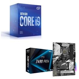 Intel Core i9 10900F BOX + ASRock Z490 Pro4 セット