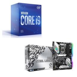 Intel Core i9 10900F BOX + ASRock Z490 Steel Legend セット