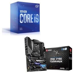 Intel Core i9 10900F BOX + MSI MAG Z490 TOMAHAWK セット