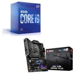 Intel Core i9 10900F BOX + MSI MPG Z490 GAMING PLUS セット