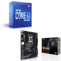 Intel Core i7 10700K BOX + ASUS TUF GAMING Z490-PLUS セット