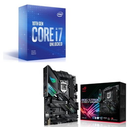 Intel Core i7 10700KF BOX + ASUS ROG STRIX Z490-F GAMING セット