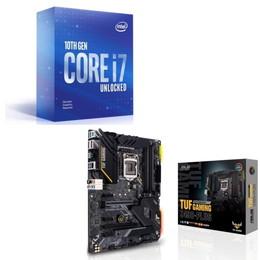 Intel Core i7 10700KF BOX + ASUS TUF GAMING Z490-PLUS セット