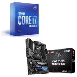Intel Core i7 10700KF BOX + MSI MAG Z490 TOMAHAWK セット