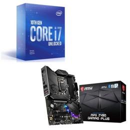 Intel Core i7 10700KF BOX + MSI MPG Z490 GAMING PLUS セット